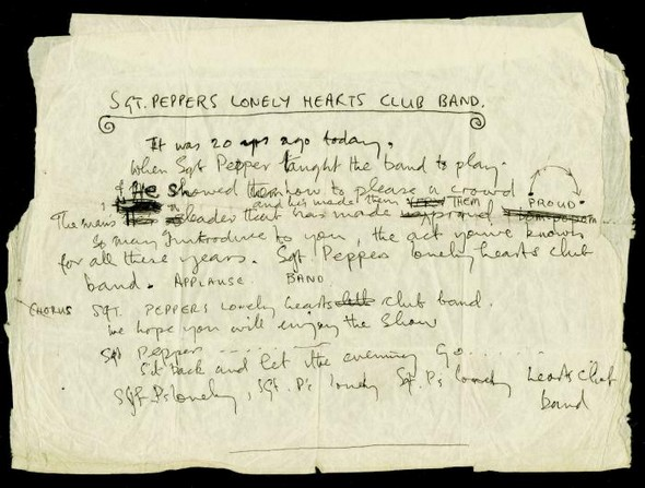 Lyrics-SgtPeppers-original